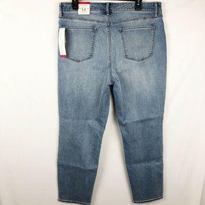 Talbots Flawless 5 Pocket Slim Ankle Jeans 14 NEW
